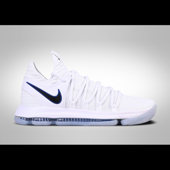 low priced 695d3 916b0 Nike KD 10 all white